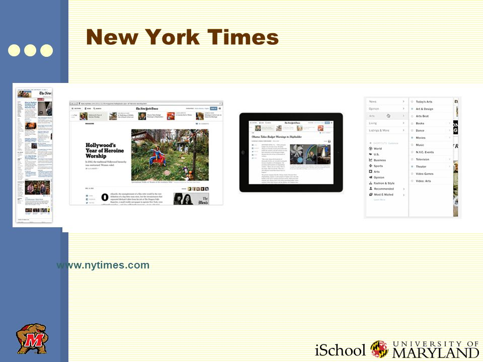 iSchool New York Times www.nytimes.com