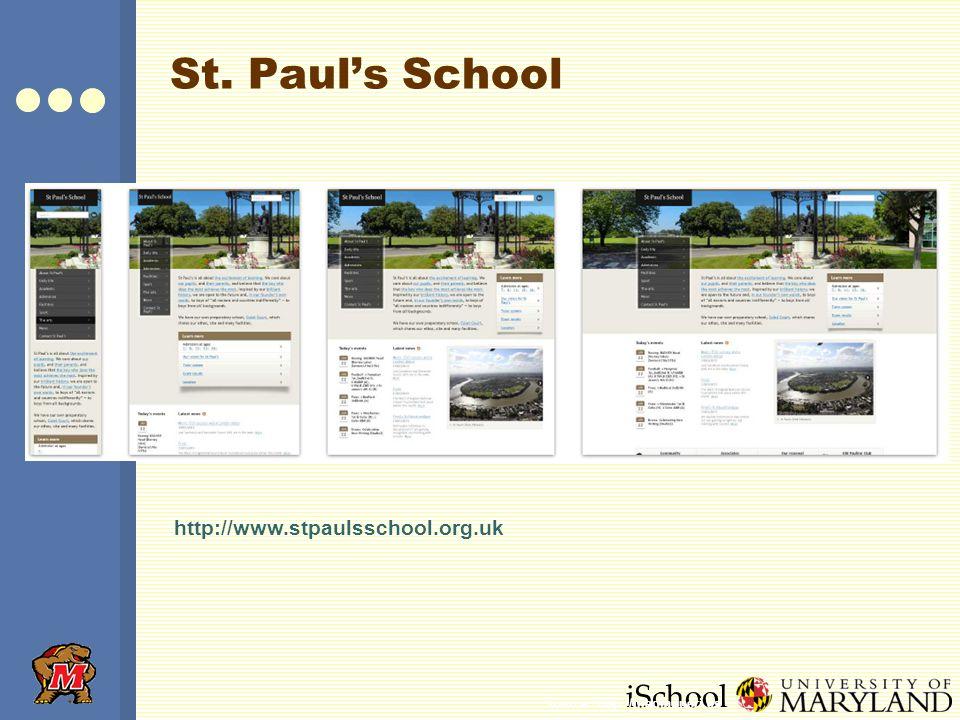 iSchool St. Paul's School http://www.stpaulsschool.org.uk Source: http://mediaqueri.es