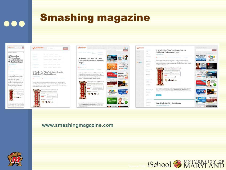 iSchool Smashing magazine www.smashingmagazine.com Source: http://mediaqueri.es