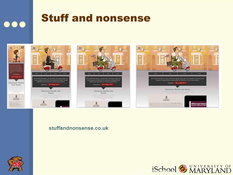 iSchool Stuff and nonsense stuffandnonsense.co.uk Source: http://mediaqueri.es