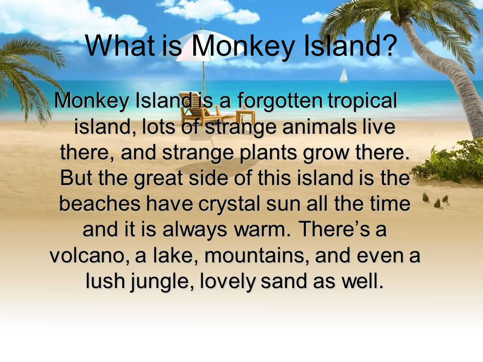 What is Monkey Island.