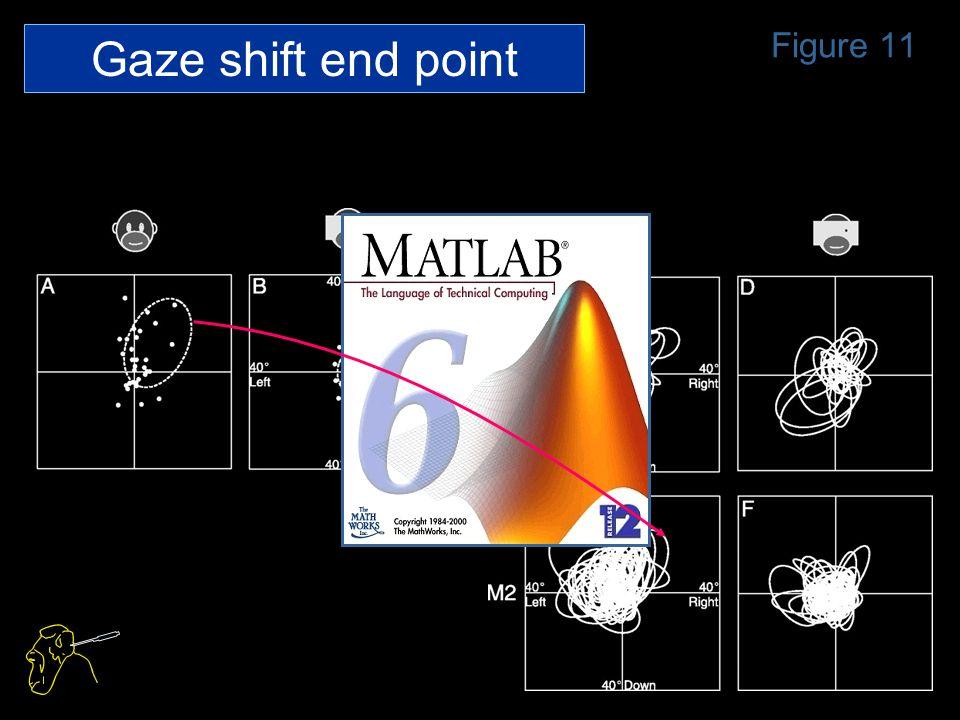 Figure 11 Gaze shift end point