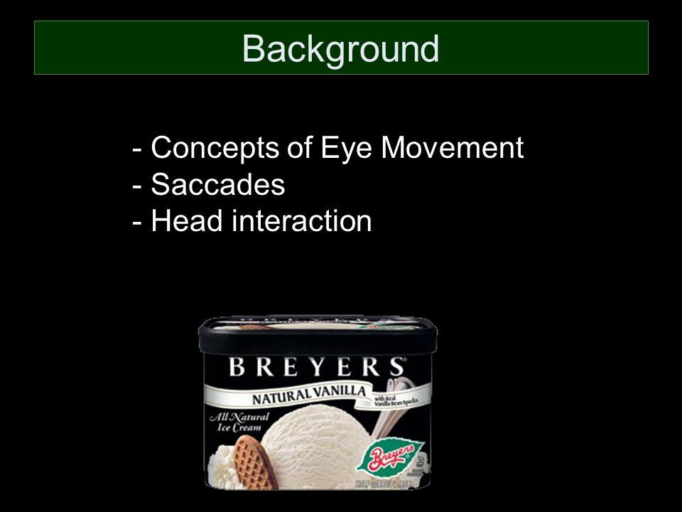 - Superior Colliculus - Vestibuloocular Reflex Eye Movement Head Movement