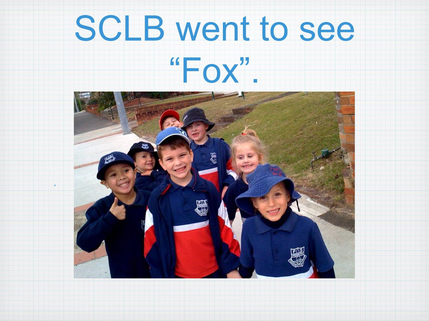 SCLB went to see Fox . x