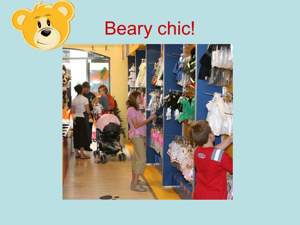 Beary chic!
