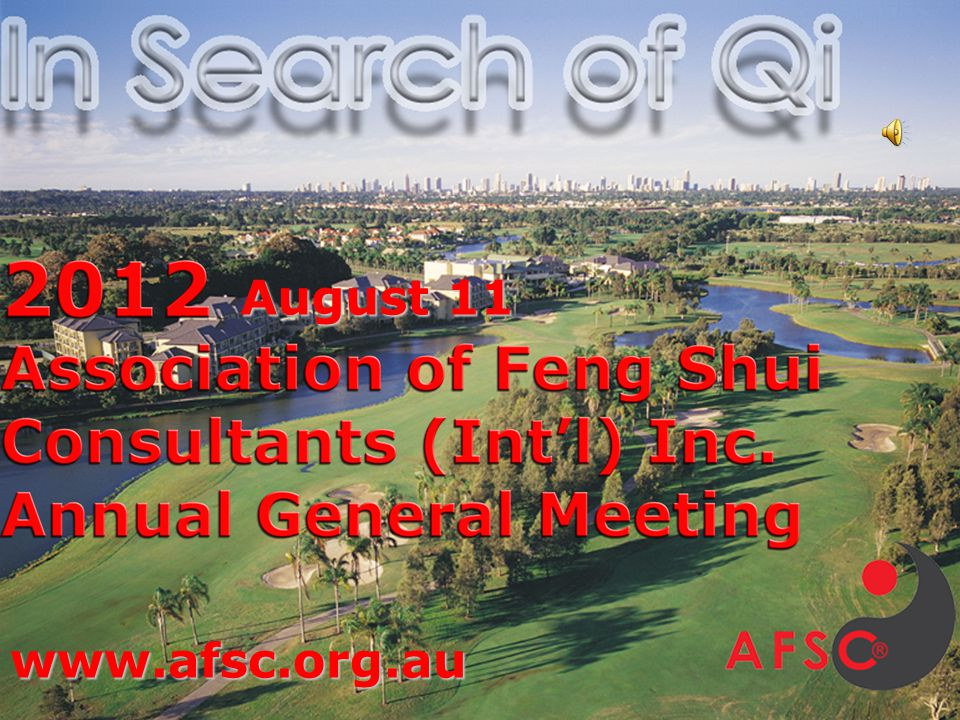 AFSC 2012 Annual General Meeting Confirm minutes of last AGM.