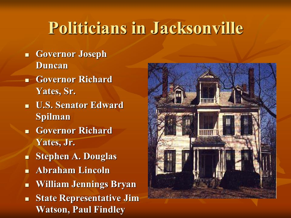 Lawyers in Jacksonville Abraham Lincoln sometimes practiced in Morgan County Abraham Lincoln sometimes practiced in Morgan County Stephen A.
