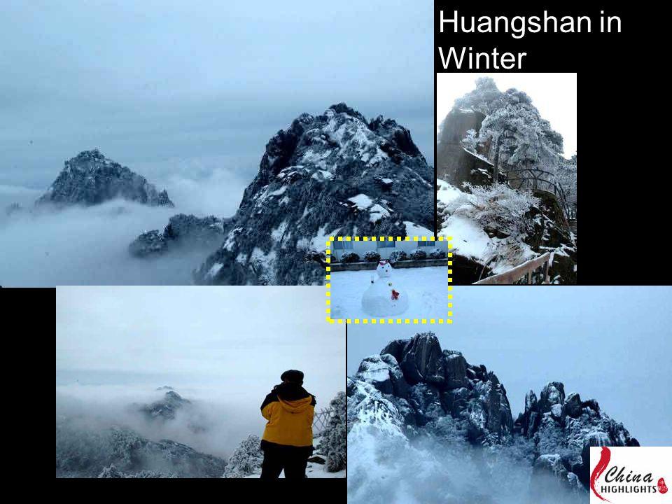 Huangshan in Winter