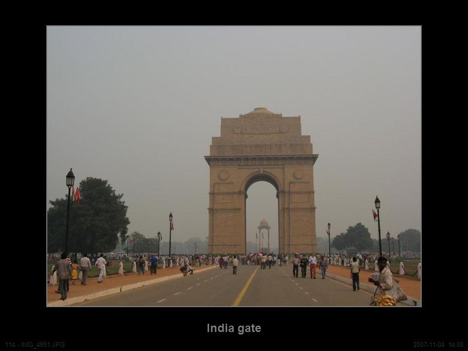 India gate 114 - IMG_4851.JPG2007-11-04 14:00