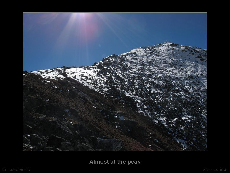 Almost at the peak 63 - IMG_4050.JPG2007-10-27 09:41