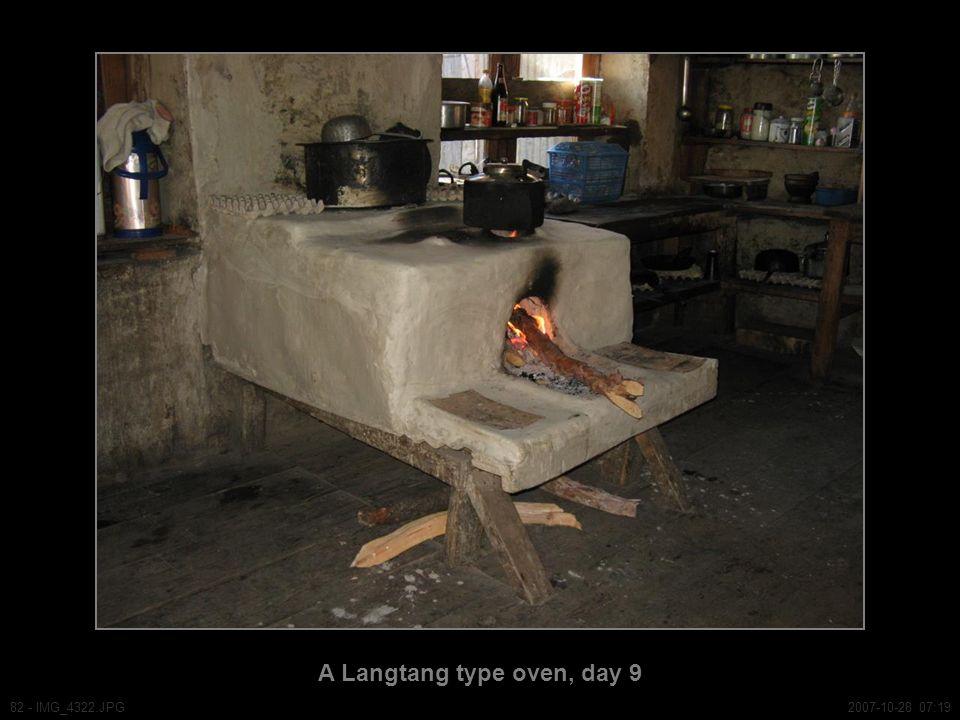 A Langtang type oven, day 9 82 - IMG_4322.JPG2007-10-28 07:19
