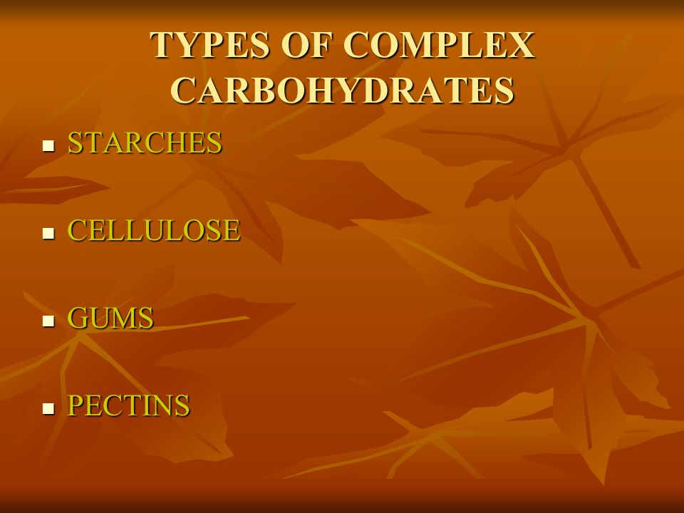 FOODS RICH IN CARBOHYDRATES SOME CARBOHYDRATES ARE SIMPLE CARBOHYDRATES SOME CARBOHYDRATES ARE SIMPLE CARBOHYDRATES MANY ARE COMPLEX CARBOHYDRATES MANY ARE COMPLEX CARBOHYDRATES CALLED POLYSACCHARIDES BECAUSE THEY ARE MADE UP OF MANY SUGAR UNITS (SACCAHARIDES) CALLED POLYSACCHARIDES BECAUSE THEY ARE MADE UP OF MANY SUGAR UNITS (SACCAHARIDES) POYSACCHARIDES ARE ALSO CALLED MACROMOLECULES BECAUSE THEY CONTAINS HUNDREDS OR THOUSANDS OF ATOMS EACH POYSACCHARIDES ARE ALSO CALLED MACROMOLECULES BECAUSE THEY CONTAINS HUNDREDS OR THOUSANDS OF ATOMS EACH