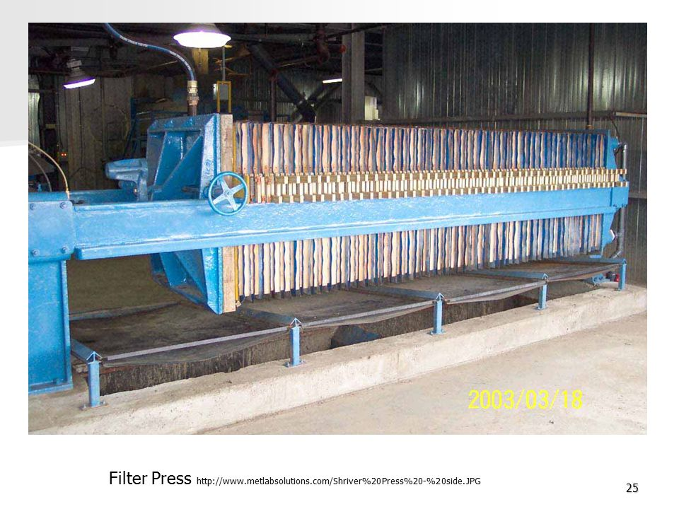 25 Filter Press http://www.metlabsolutions.com/Shriver%20Press%20-%20side.JPG