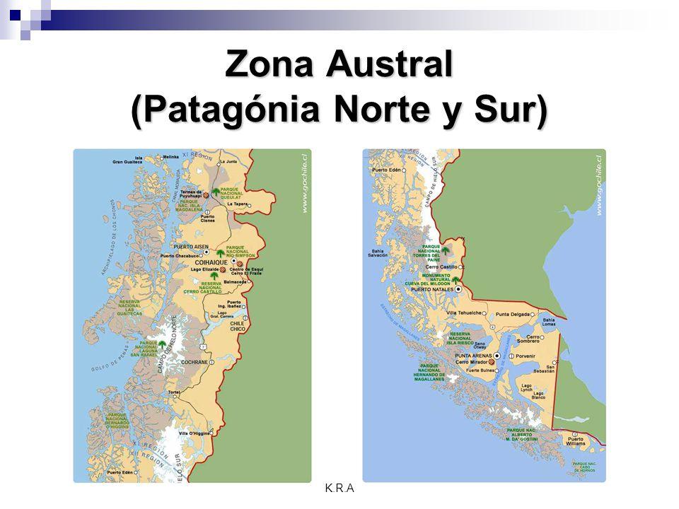 K.R.A Zona Austral (Patagónia Norte y Sur)