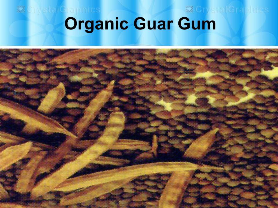 Organic Guar Gum