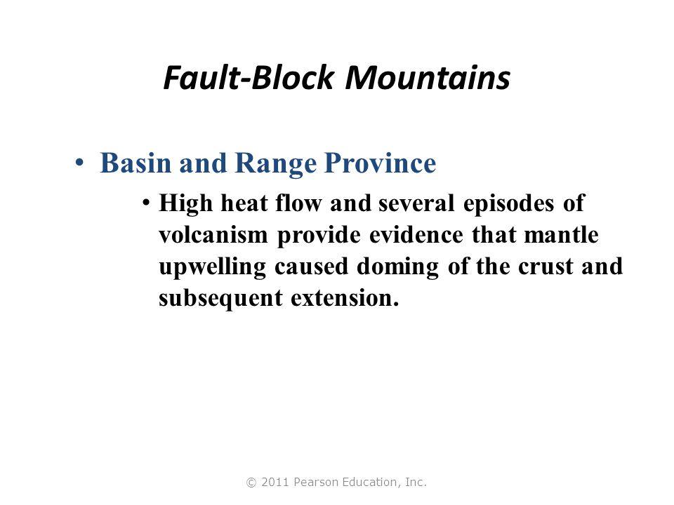 © 2011 Pearson Education, Inc. The Basin and Range Province