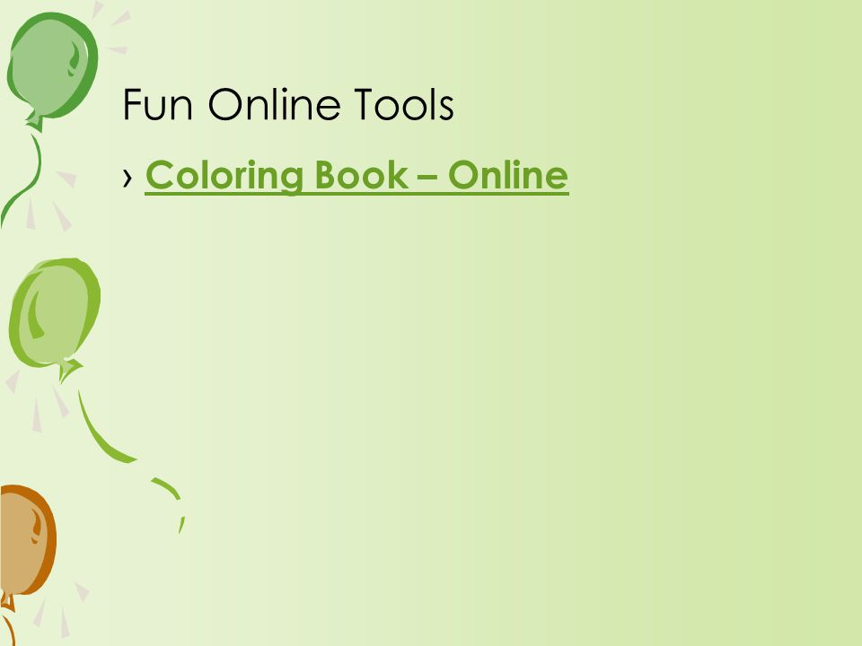 › Coloring Book – Online Coloring Book – Online Fun Online Tools