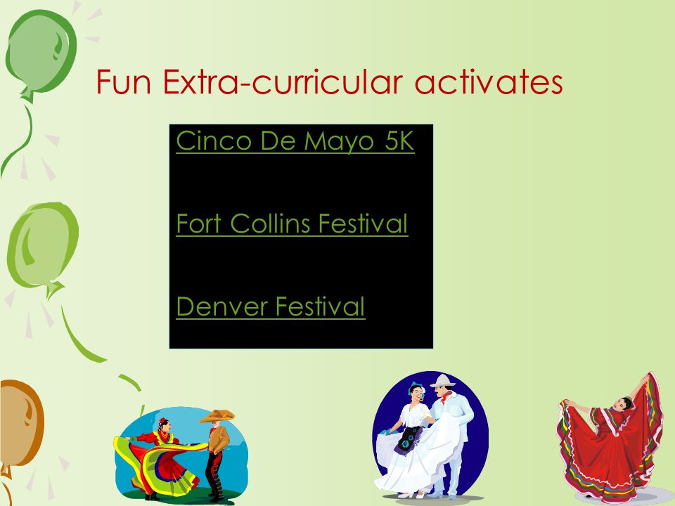 Cinco De Mayo 5K Fort Collins Festival Denver Festival Fun Extra-curricular activates