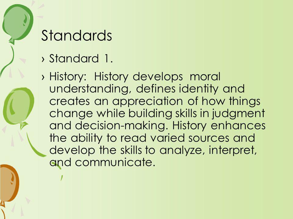 ›Standard 1.