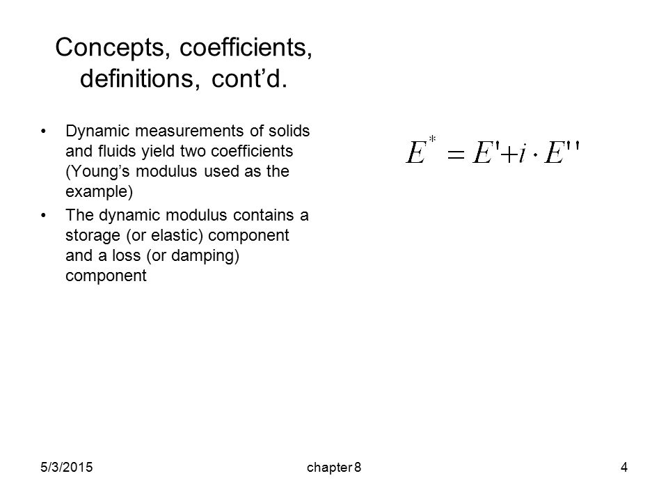 5/3/2015chapter 84 Concepts, coefficients, definitions, cont'd.