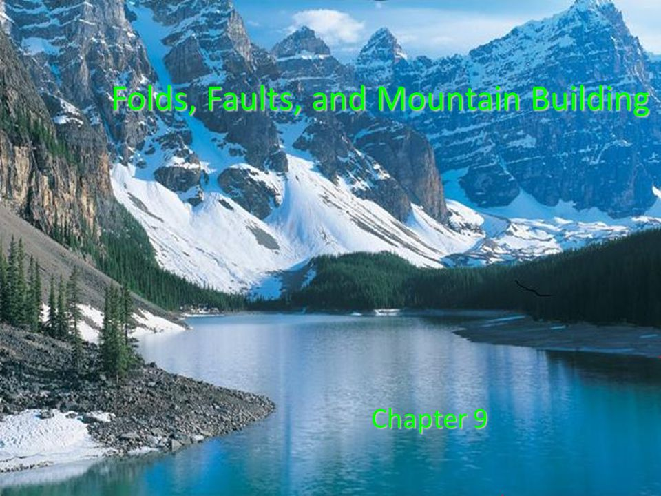 Folds, Faults, and Mountain Building Chapter 9