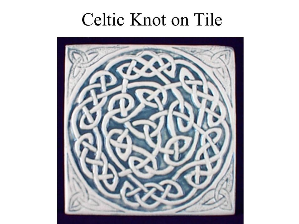 Celtic Knot on Tile