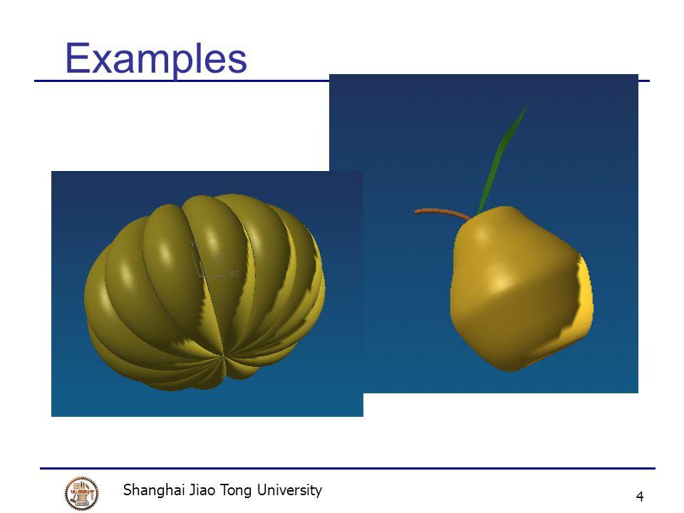 Shanghai Jiao Tong University 4 Examples