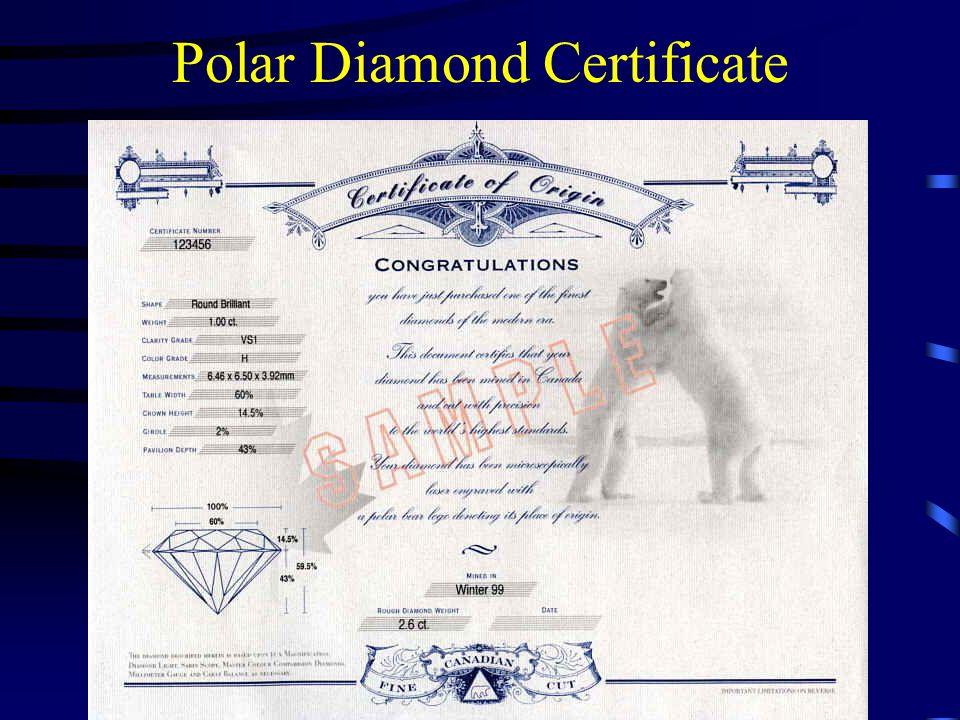 Polar Diamond Certificate