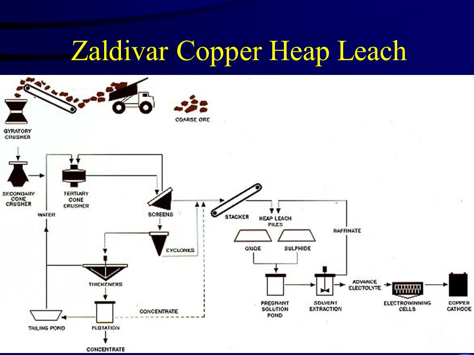 Zaldivar Copper Heap Leach