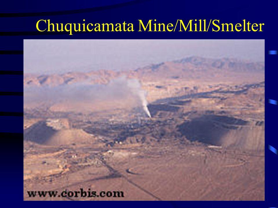 Chuquicamata Mine/Mill/Smelter