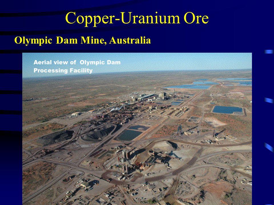 Copper-Uranium Ore Olympic Dam Mine, Australia