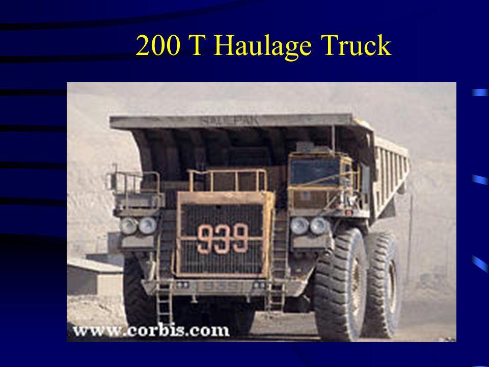 200 T Haulage Truck
