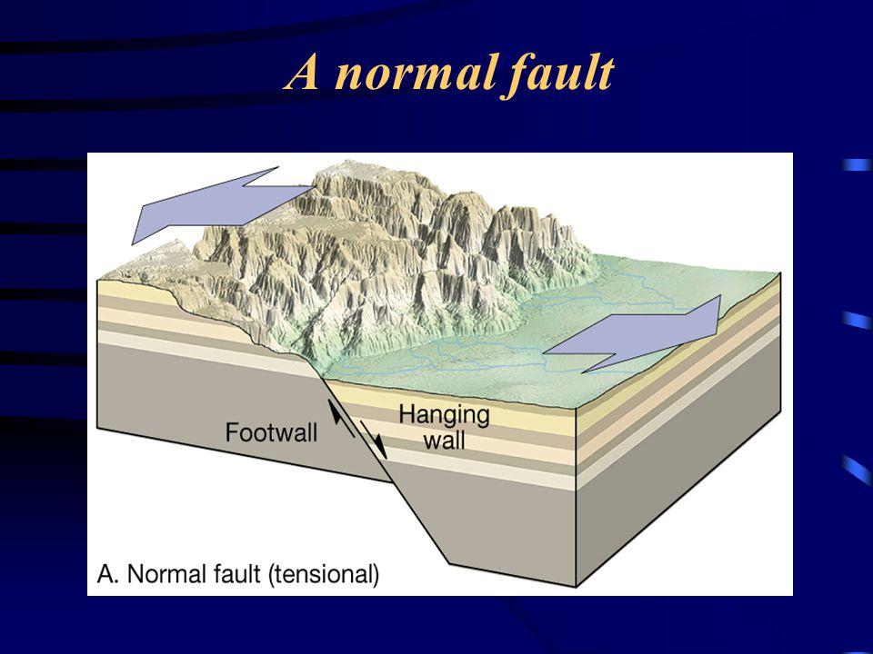 A normal fault