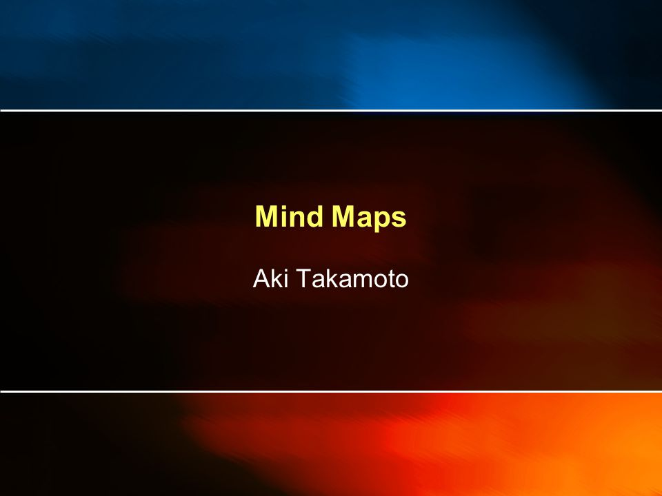 Mind Maps What is a Mind Map Where are Mind Maps From.