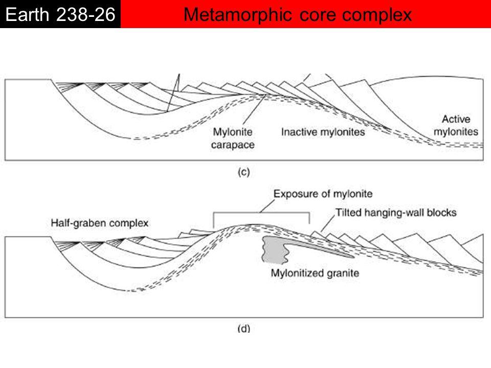 Metamorphic core complexEarth 238-26