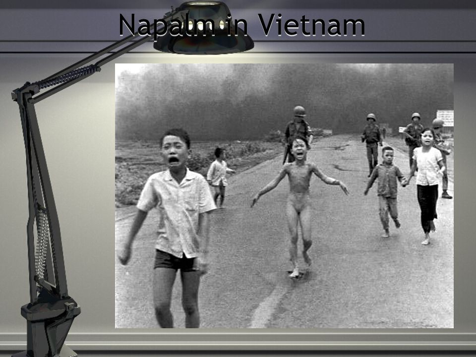 Napalm in Vietnam