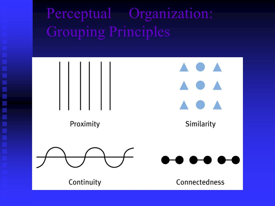 PerceptualOrganization: Grouping Principles