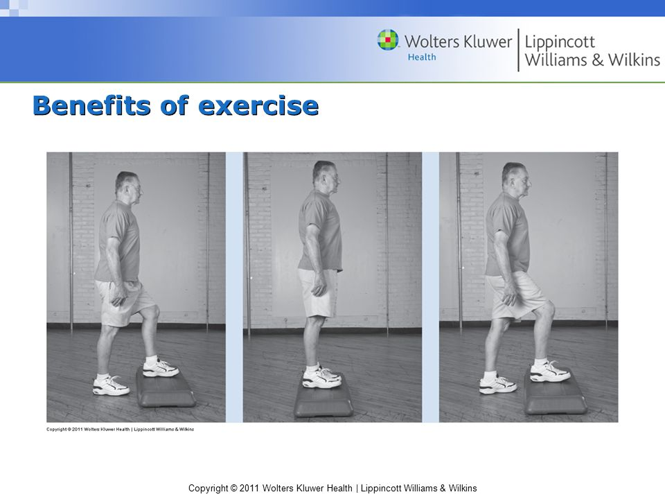 Copyright © 2011 Wolters Kluwer Health | Lippincott Williams & Wilkins Benefits of exercise