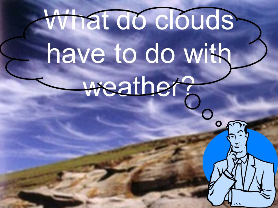What do clouds have to do with weather