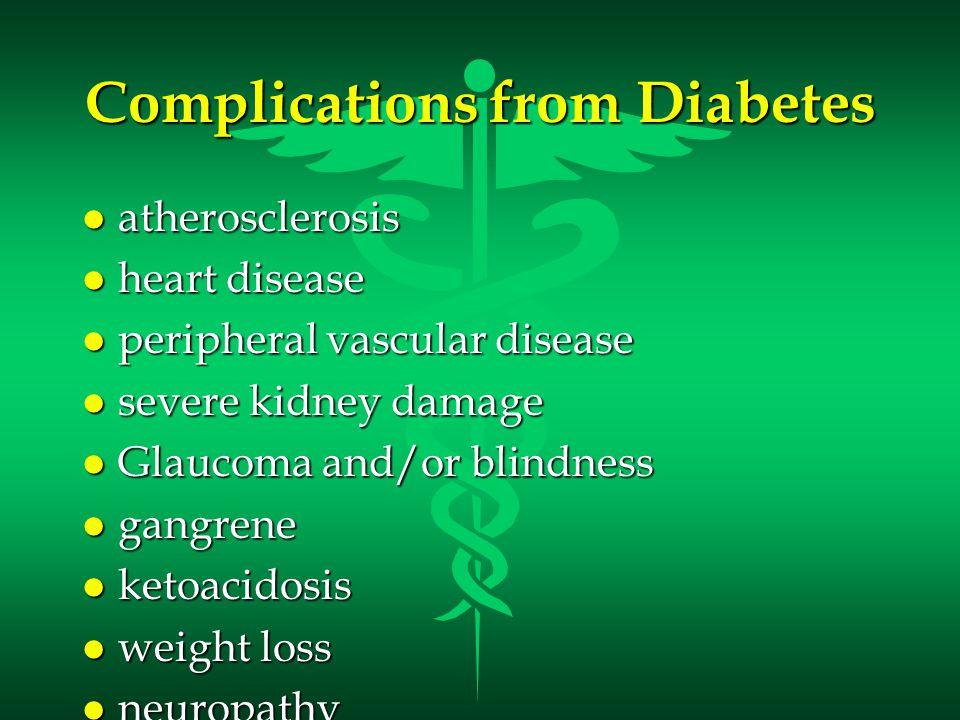 Treatments for Diabetes l Regular insulin injections l Artificial pancreas l Transplantation of the pancreas l transplantation of clusters of islet cells l Injection of fetal islet cells