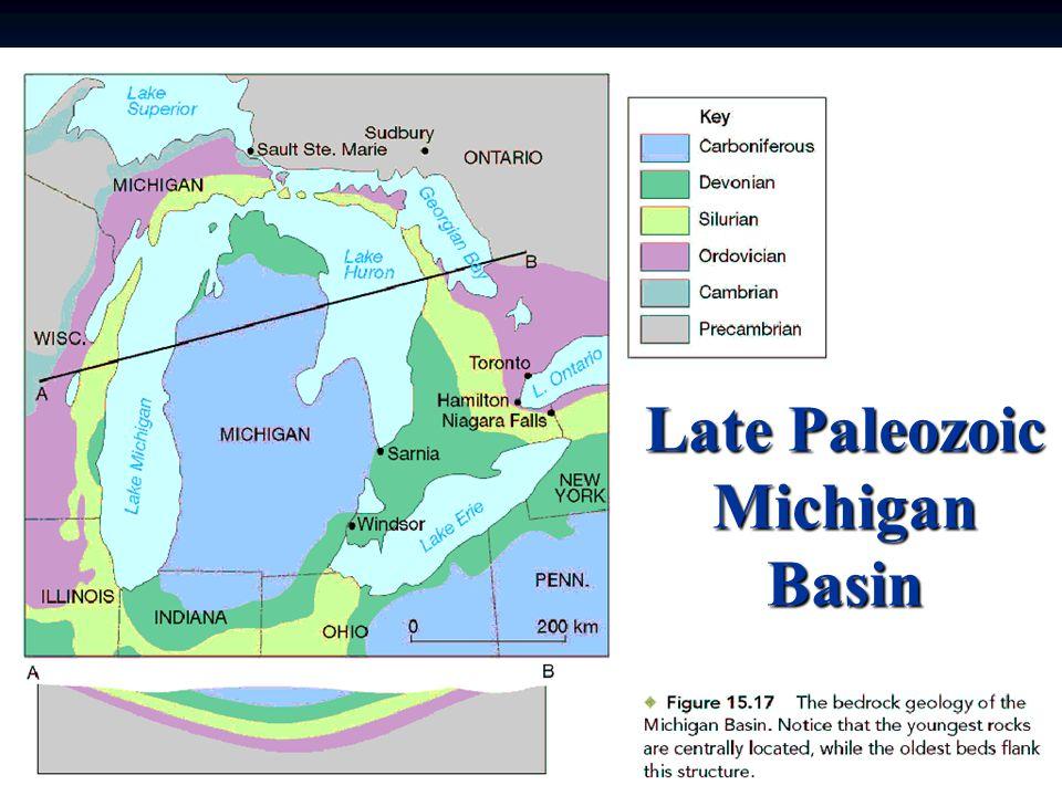 Late Paleozoic Michigan Basin