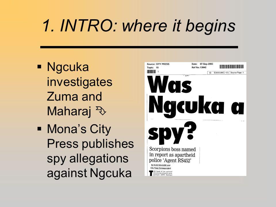 2.2 Suspicions re: Tsedu  Tsedu & Sunday Times: Close to/influenced?