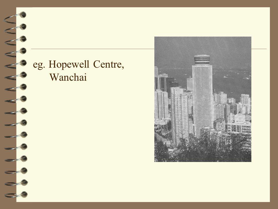 eg. Hopewell Centre, Wanchai