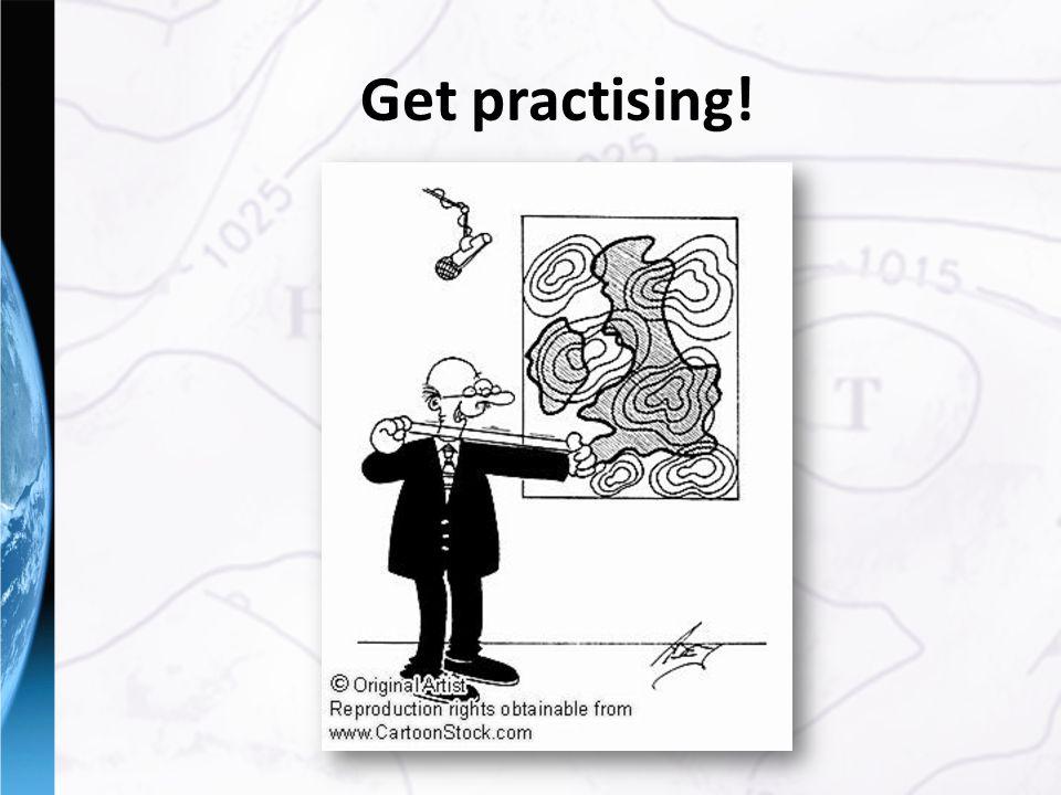 Get practising!
