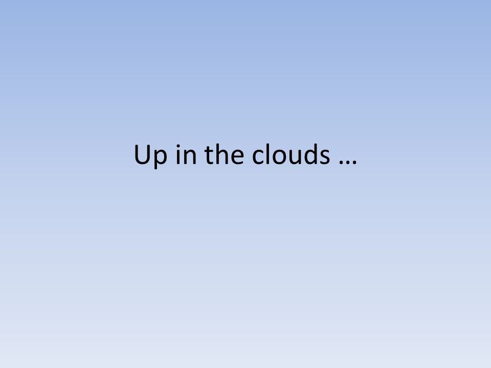 How are clouds formed.Warm moist air rises because it is less dense.