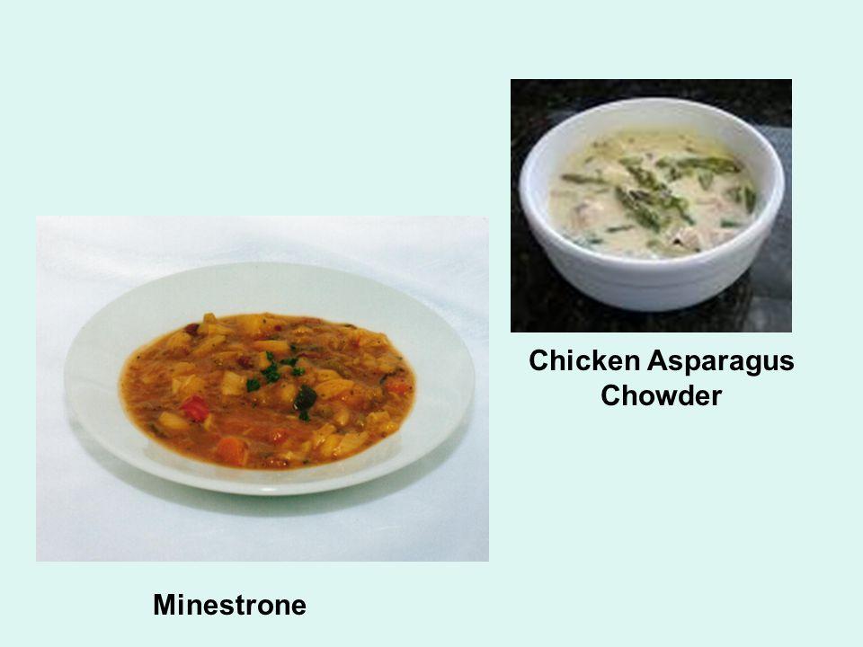 Minestrone Chicken Asparagus Chowder