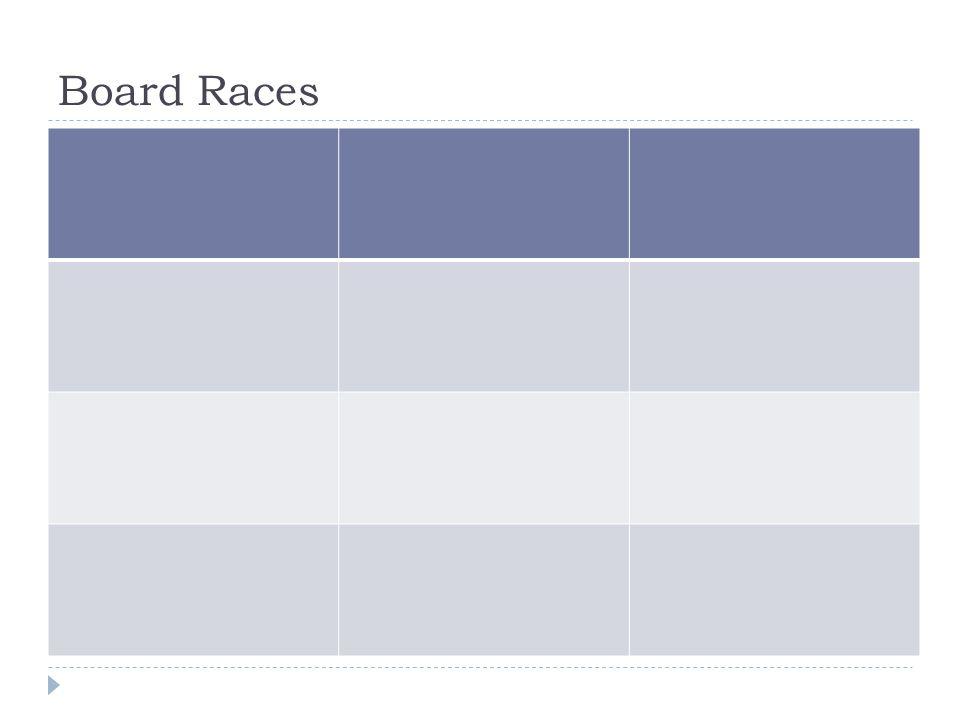 Board Races