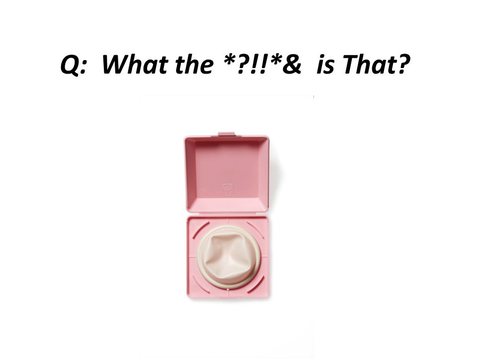 A: Diaphragm.A diaphragm is a shallow, dome-shaped cup made of latex or silicone.