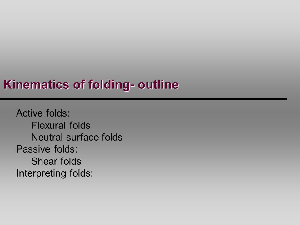 Boudinaged stiff-layer that is subsequently rotated & extended.