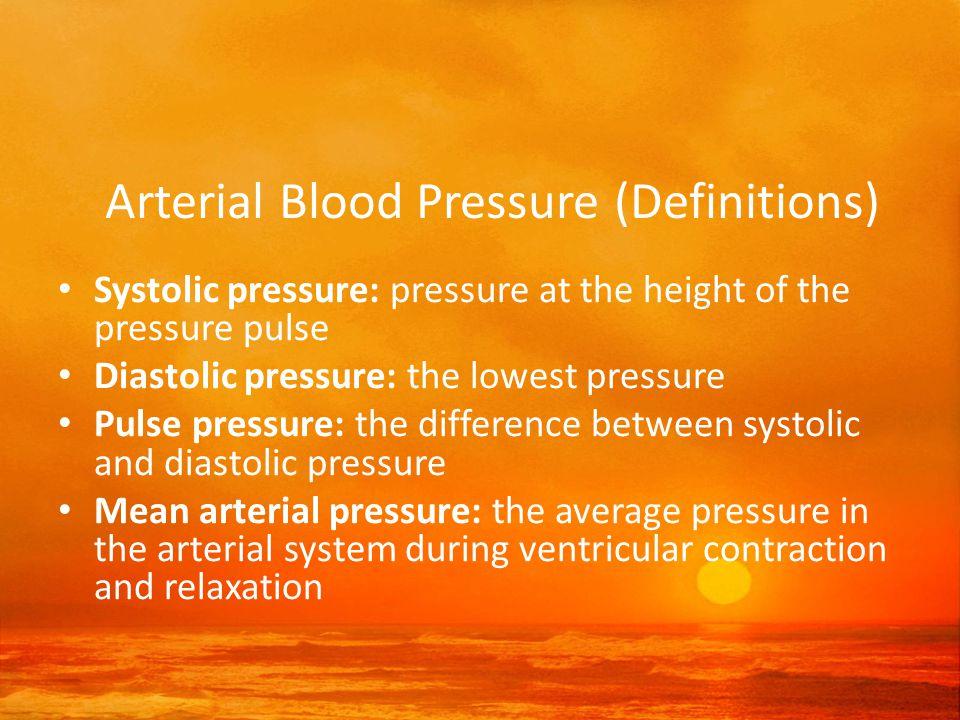 Categories of High Blood Pressure High Blood Pressure Stage 1 140–159 /90–99 Stage 2 160–179 /100–109 Stage 3 180 /110